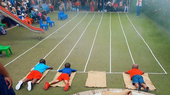 Boys Sack Race